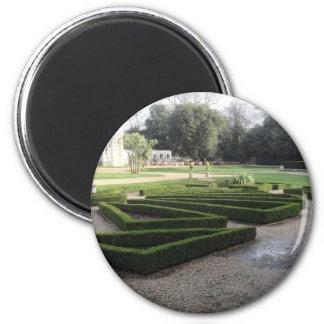 Highcliffe Castle Gardens, Dorset. 2 Inch Round Magnet