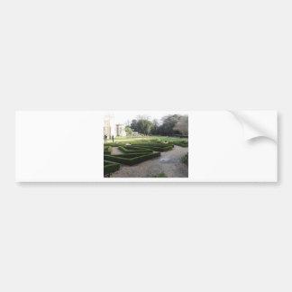 Highcliffe Castle Gardens, Dorset. Bumper Sticker