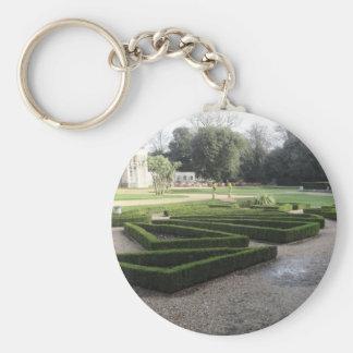 Highcliffe Castle Gardens, Dorset. Keychain