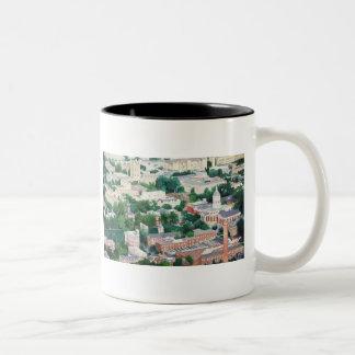"""Higher Education"" University Of Missouri Ariel Two-Tone Coffee Mug"