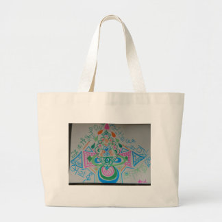 Higher Heart Activation Large Tote Bag
