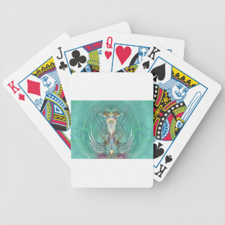 Higher heart gate bicycle poker cards