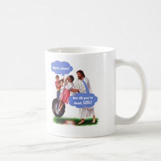 higher, higher coffee mug