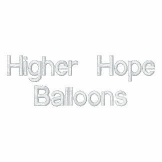 Higher Hope Balloons Embroidered Shirt