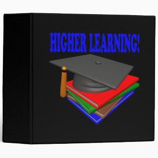 Higher Learning 3 Ring Binder