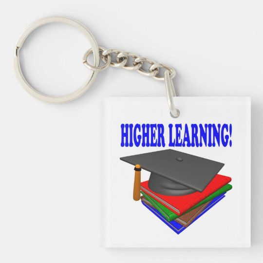 Higher Learning Keychain