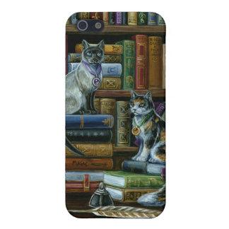 Higher Learning Library Cats iPhone SE/5/5s Cover
