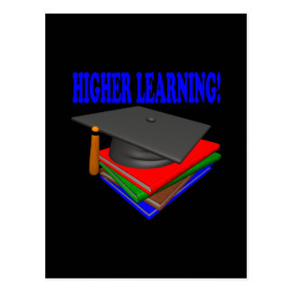 Higher Learning Postcard