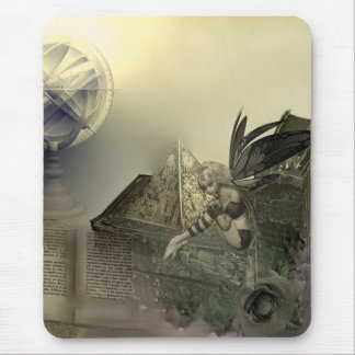 Higher Learning Vintage Fairy Mouse Pad