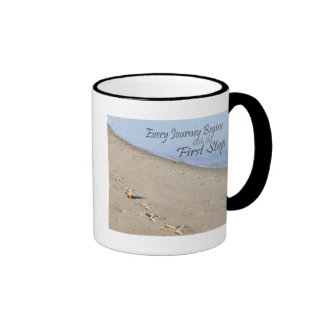 Higher Power and Serenity Ringer Coffee Mug
