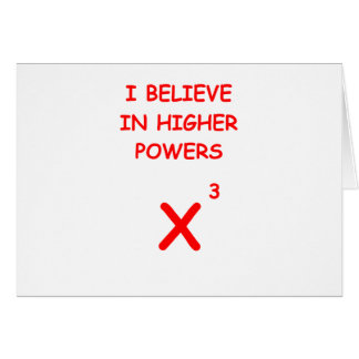 higher power greeting card