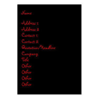 Higher Power Large Business Cards (Pack Of 100)