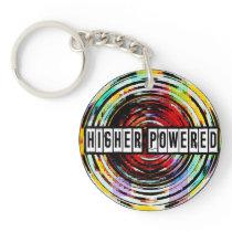 Higher Powered Acrylic Key Chain
