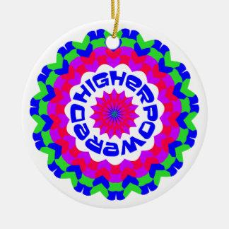 Higher Powered Ceramic Ornament