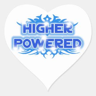 Higher Powered Heart Sticker
