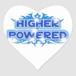Higher Powered Heart Stickers