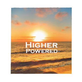 Higher Powered Notepad