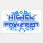 Higher Powered Rectangle Sticker
