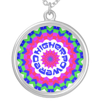 Higher Powered Silver Plated Necklace
