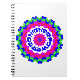 Higher Powered Spiral Notebook