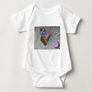 Higher self activation baby bodysuit