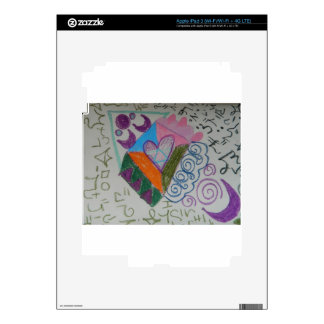 Higher self activation decal for iPad 3