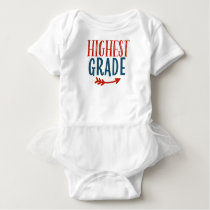 Highest Grade Proud Of Your Kid Gift or Present Baby Bodysuit