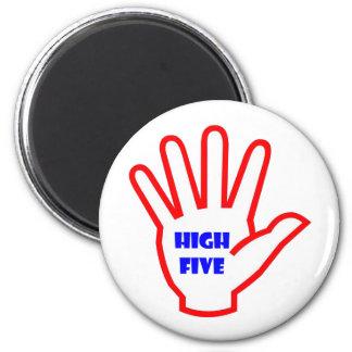 HIGHFIVE:  EMBROMA la herramienta de motivación Imán Redondo 5 Cm