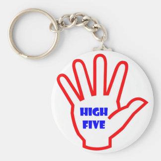 HIGHFIVE:  EMBROMA la herramienta de motivación Llavero Redondo Tipo Pin