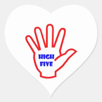 HIGHFIVE:  EMBROMA la herramienta de motivación Pegatina En Forma De Corazón