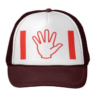 HIGHFIVE High5  Red Trucker Hat
