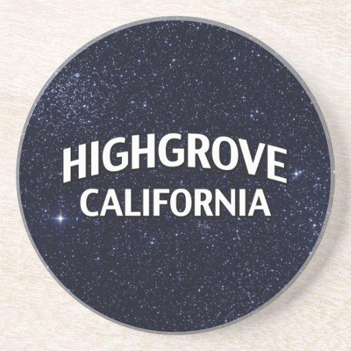 Highgrove California Drink Coaster