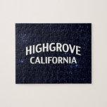 Highgrove California Puzzle