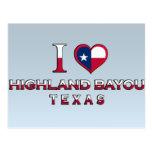 Highland Bayou, Texas Postcard