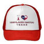 Highland Bayou, Texas Trucker Hat
