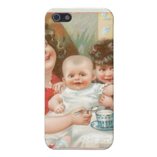 Highland Brand Condensed Milk Vintage Food Ad Cases For iPhone 5