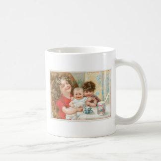 Highland Brand Condensed Milk Vintage Food Ad Classic White Coffee Mug