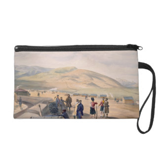 Highland Brigade Camp, plate from 'The Seat of War Wristlet Purse