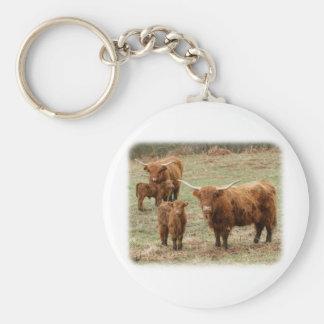 Highland Cattle 9Y316D-055 Keychain