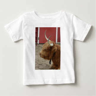 Highland Cattle Cow Baby T-Shirt