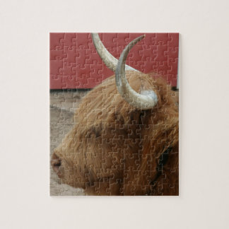 Highland Cattle Cow Puzzle
