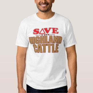 Highland Cattle Save Tee Shirt