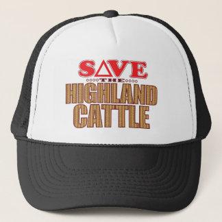Highland Cattle Save Trucker Hat