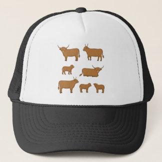Highland Cattle Trucker Hat