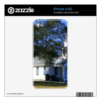 Highland City Chapel Decals For iPhone 4S