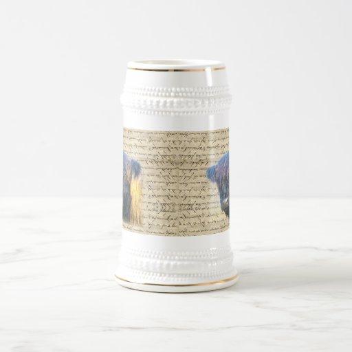 Highland cow 18 oz beer stein