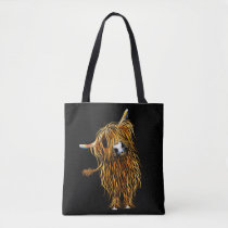 "HiGHLaND CoW BaG ""CoooWeee' BY SHiRLeY MacARTHuR"
