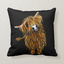 HiGHLaND CoW CuSHioN ' CoooWeee '