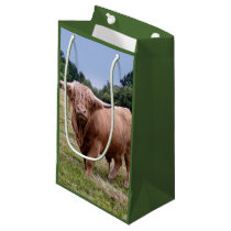 Highland Cow Gift Bag
