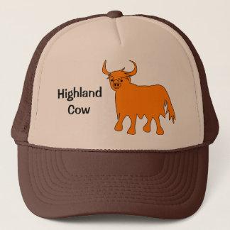 Highland Cow hat design